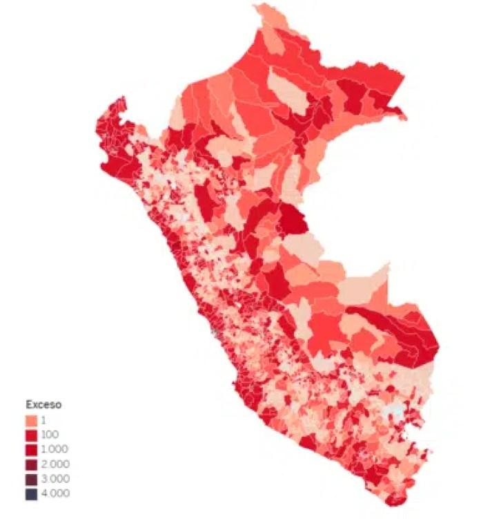 Mapa defunciones por Covid