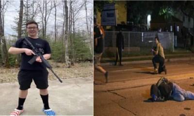 Adolescente fusilo a 3 personas en manifestaciones de EE.UU, admira el trabajo de la policía y las armas de fuego