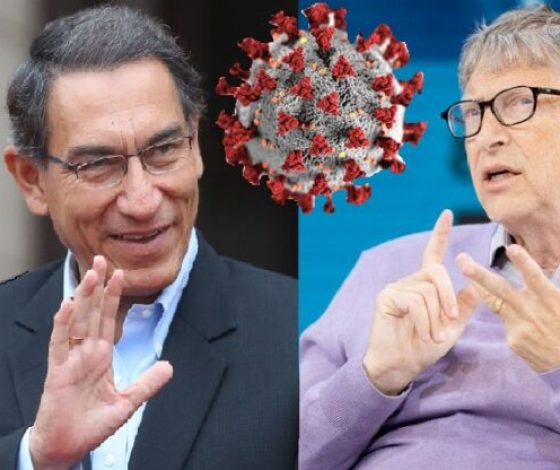 VIZCARRA Y BILL GATES