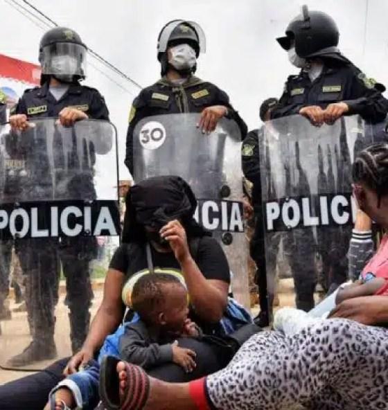 protesta frontera