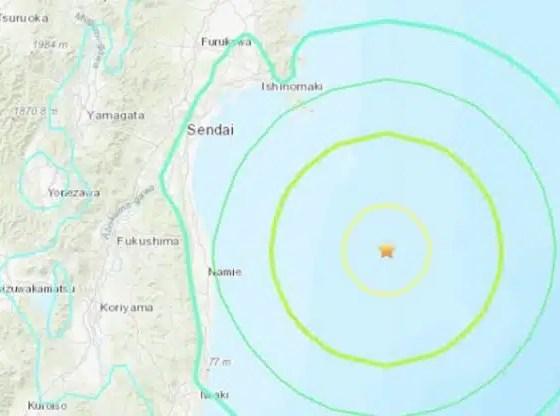 terremoto Japón