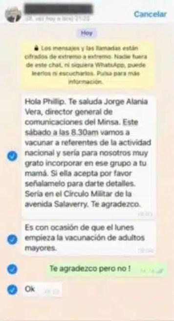 Whatsapp Alania a Buters