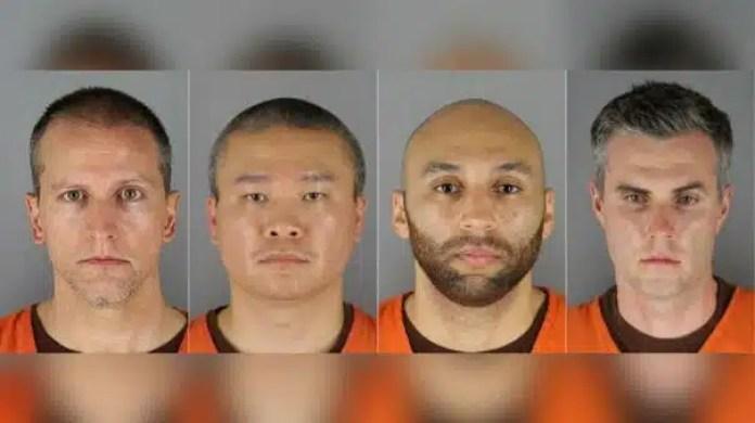 Jurado federal acusa a cuatro ex policías por la muerte de George Floyd