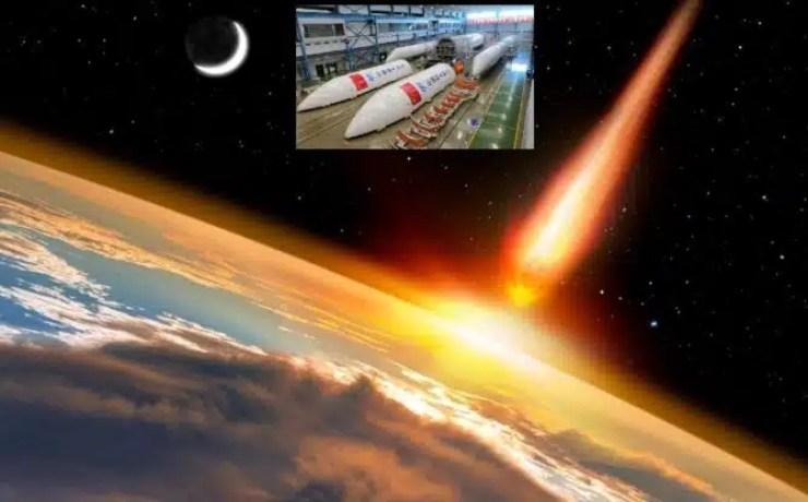 Cohete chino de 21 T. cae incontrolablemente hacia la Tierra