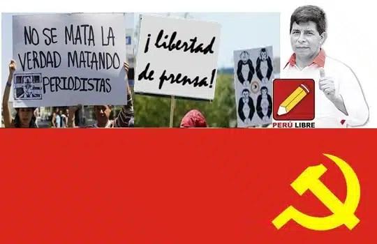 Pedro Castillo contra el Periodismo