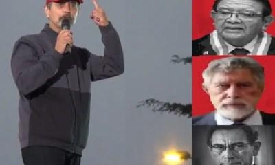 Mauricio Mulder discurso en Marcha por la democracia