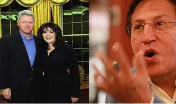 bill clinton and monica lewinsky on february 28 1997