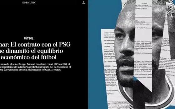 PSG desembolsa € 500.000 para tener a NEYMAR hasta 2025