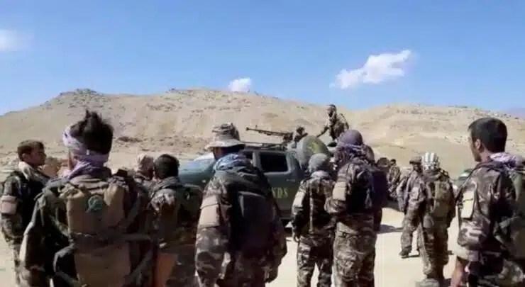 Talibanes anuncian el control de ultima zona de resistencia