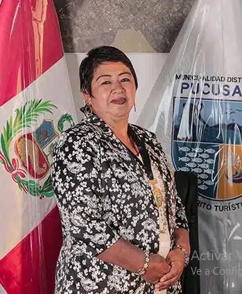 alcaldesa de pucusana