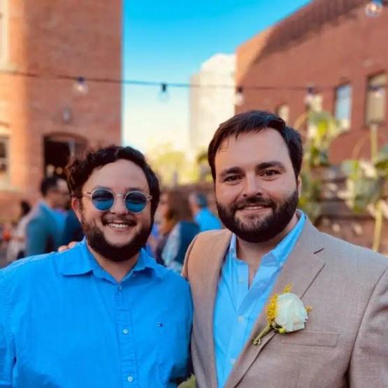 Alberto De Belaunde se casa en EE.UU.