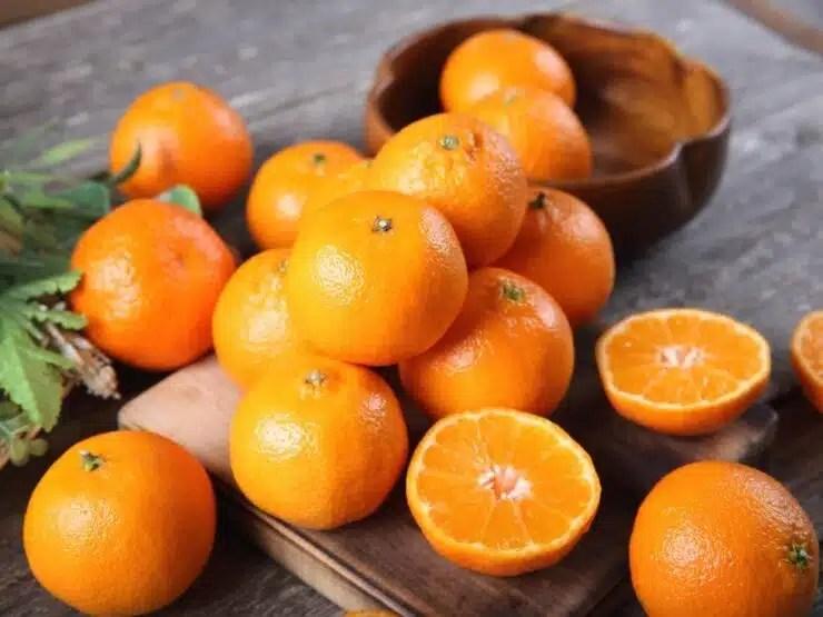 qué vitamina tiene la naranja