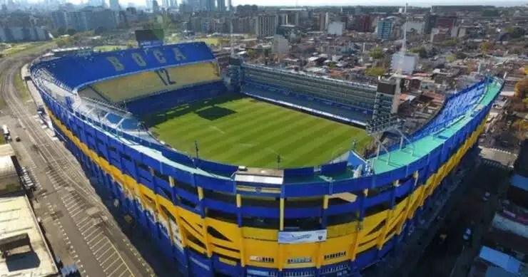 Estadios Sudamericanos de futbol