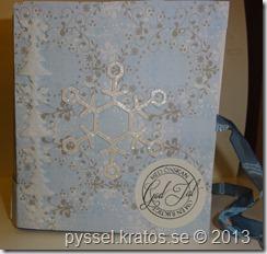 bokkort med snö framsida