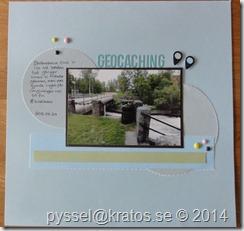 geocaching layout