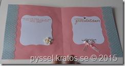 gratulationskort i rosa insida