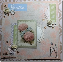 lillblomman kort