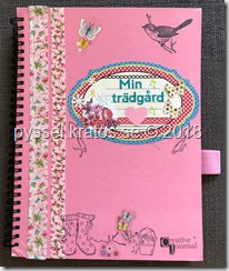 Creative journal min trädgård