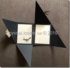 triangelvikning insida