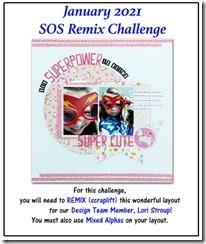 SOS, jan remix
