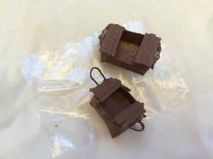 Fiskarlådor i miniformat,2 pack