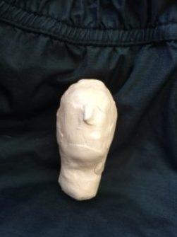 Huvud med lång hals