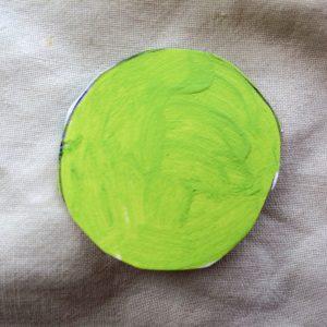 Målad ljusgrön/bright