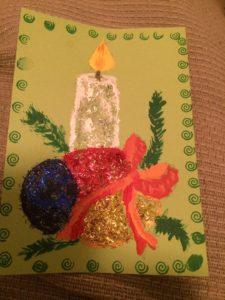 glitter-julkort-ljuset