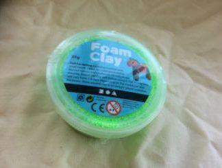 Grön Foam Claylera