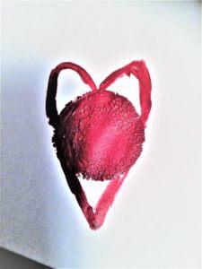 Hjälpmedel för mönstermålning av hjärtan