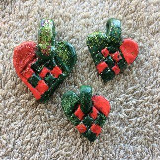 Flätade hjärtan i microformat