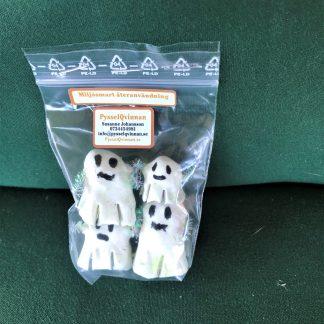 Spökfamiljen som lyser i mörkret, 4 pack