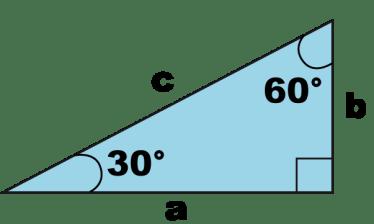 30-60-degree-right -triangle