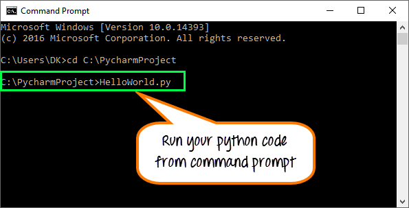 Creating Your First Python Program