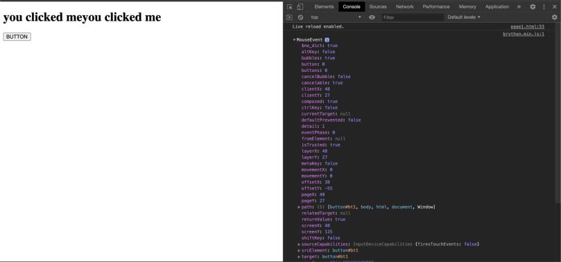 برمجة الويب بالبايثون - التعديل على عناصر الصفحة من خلال زر