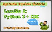 Instalando Python 3 + ¿Qué es un Ide?