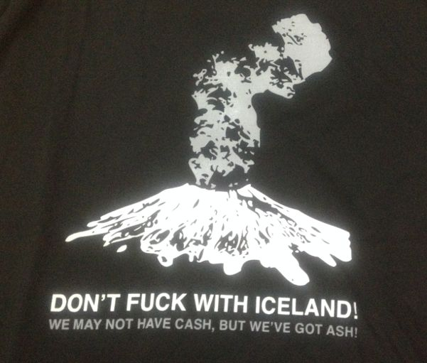 Iceland may not have cash, but they have ash