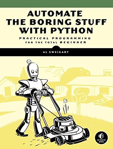 Python Book - Automate the Boring Stuff with Python