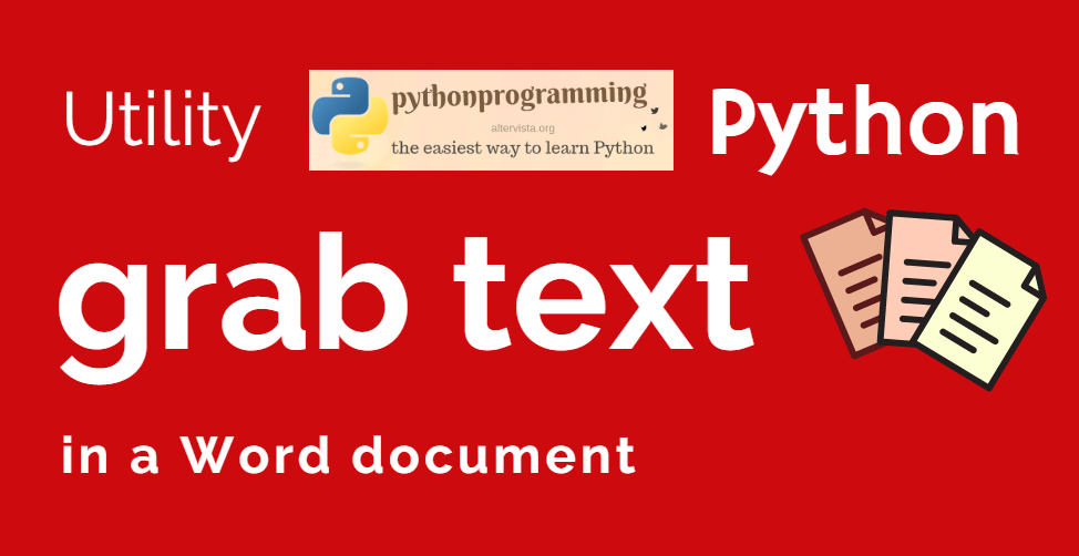 Join more Words documents in one PDF   python programming