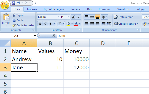 Fastest way to use Excel with Python to make a table