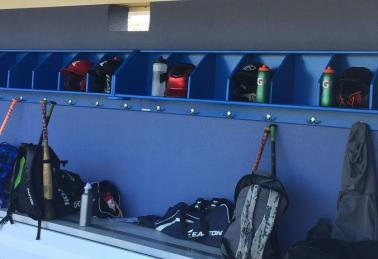 Dugout Player Storage Rack Organizers For Dugouts Pyt