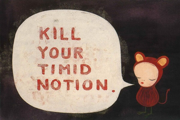 Kill your timid notion3