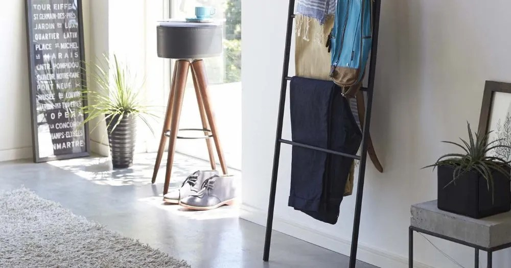 this 50 wall ladder is like having an extra closet