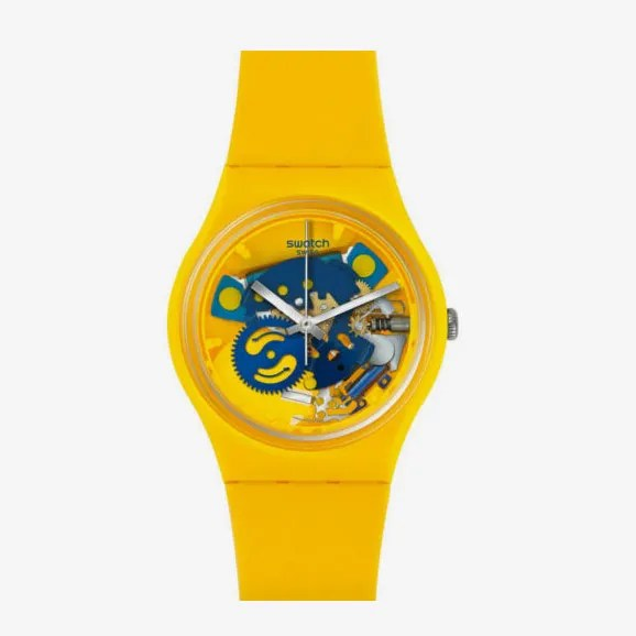 Swatch Gent Poussin Watch, Used