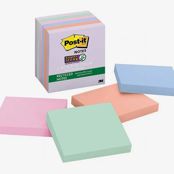 Post-it Recycled Super Sticky Notes