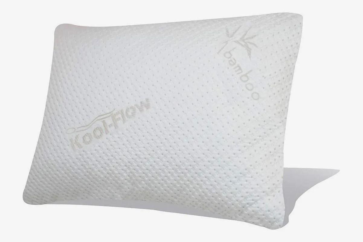 snuggle pedic ultra luxury bamboo shredded memory foam pillow