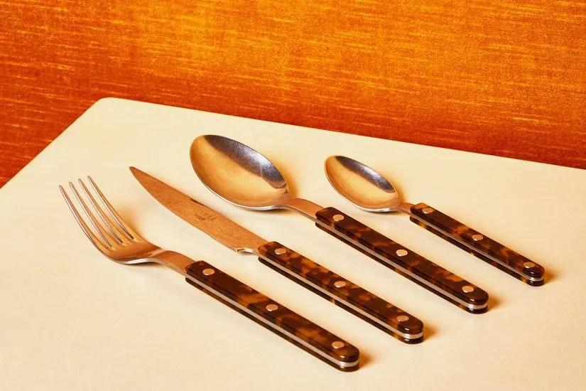 stylish sets of flatware