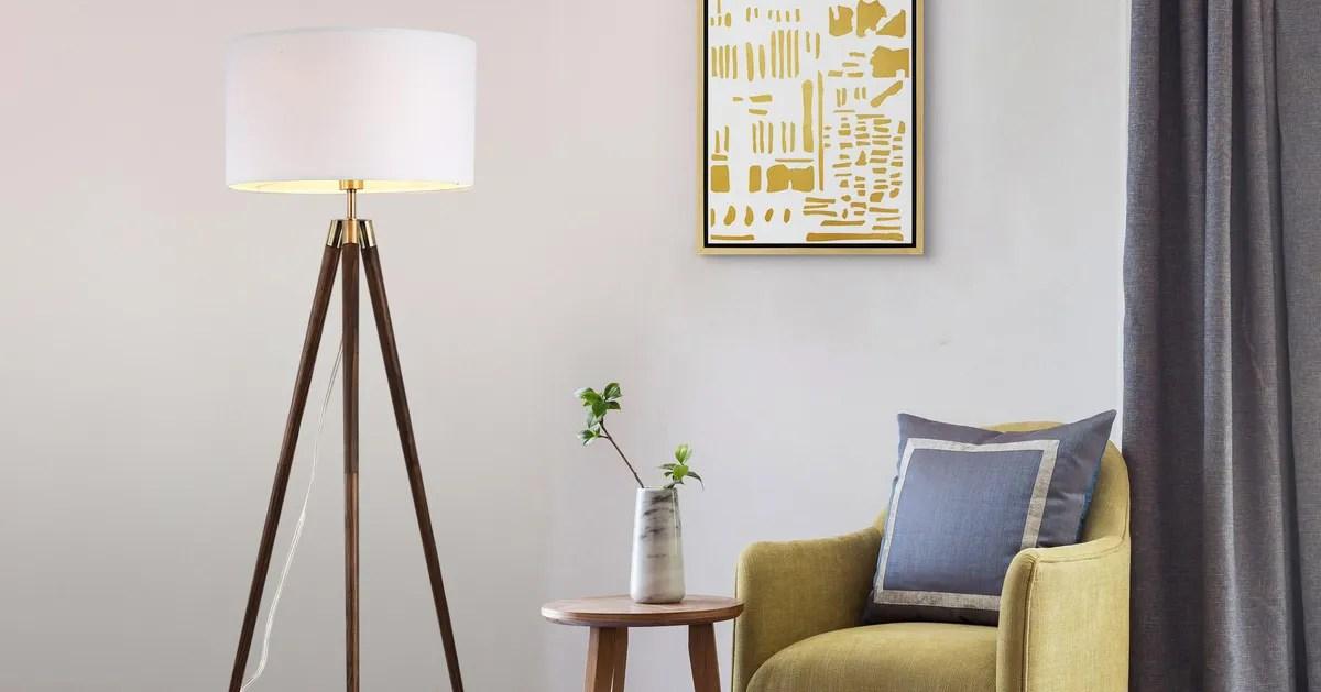 the best floor lamps according to interior designers