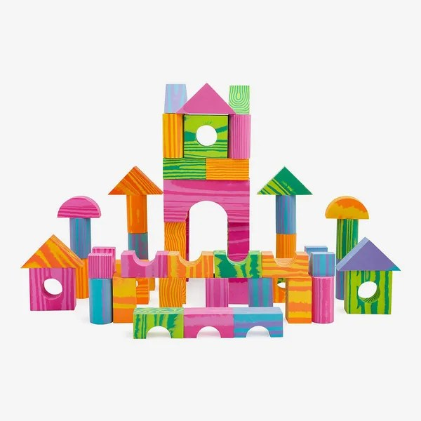 Morvat Foam Building Block Set