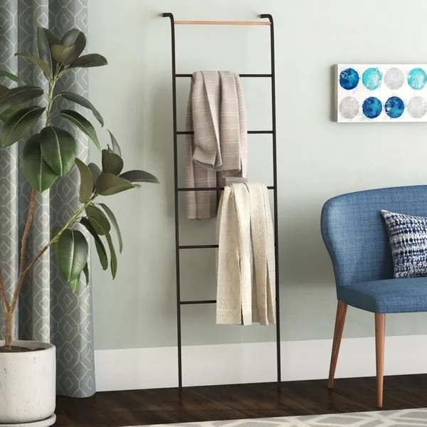 wall ladders for keeping clothes